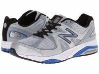 Mens Running Silver Blue 2E Width