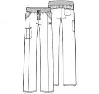 Infinity Low Rise Straight Leg Drawstring Pant