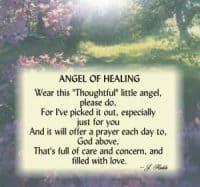 Angel of Healing Pin