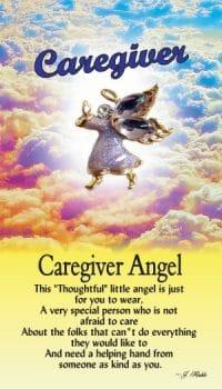 Caregiver Angel Pin