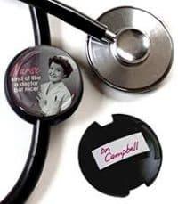 Boojee Stethoscope ID tag