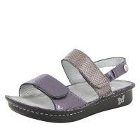 Womens Sandal – Verona Braided Pewter