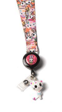 tokidoki by Koi Lanyard with Badge Reel