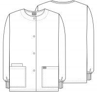 WW Originals Snap Front Warm-Up Jacket