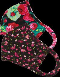 Betsey Johnson Reusable Face Mask – 2 pack