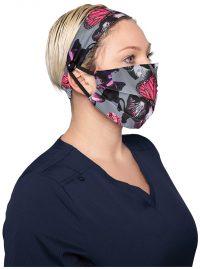 Koi Reusable Face Mask and Headband Set