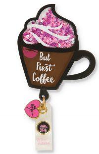 Betsey Johnson Shaker Retractable ID Badge Reel
