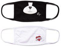 *Kids* Betsey Johnson Reusable Face Masks – 2 pack