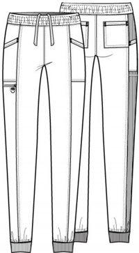 Balance Mid Rise Knit Panel Jogger Pant